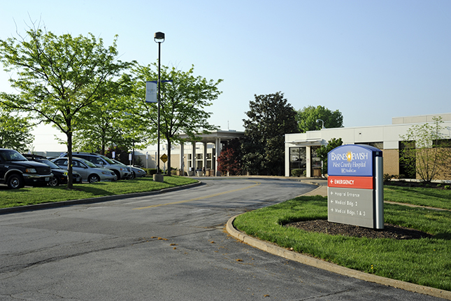 Barnes-Jewish West County Hospital Exterior pruitt